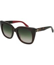 Gucci Damen gg0163s 004 51 Sonnenbrille
