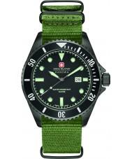 Swiss Military 6-4279-13-007 Mens Seelöwe grüne Nylonband Uhr