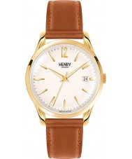 Henry London HL39-S-0012 Westminster blass Champagner braun Uhr