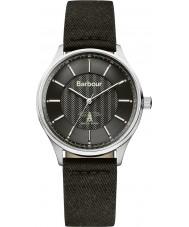 Barbour BB021SLBK Mens glysdale schwarzen Stoffband Uhr