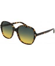 Gucci Damen gg0092s 003 Sonnenbrille