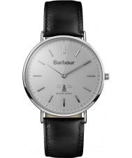 Barbour BB055SLBK Hartley schwarzes Lederband Uhr