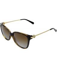 Michael Kors Mk6006 57 marrakesh dunkle Schildpatt 3006t5 polarisierte Sonnenbrille