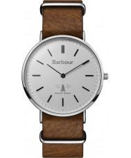 Barbour BB055SLBR Hartley braunes Lederband Uhr