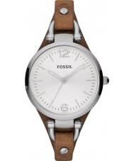 Fossil ES3060 Damen Georgia Brown Uhr