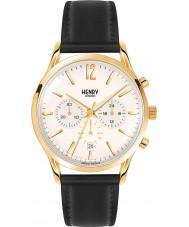 Henry London HL41-CS-0018 Mens westminster blass Champagner schwarz Chronograph