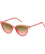 Marc Jacobs Damen marc 47-s tot fx Korallen Sonnenbrille