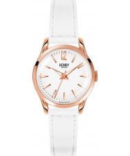 Henry London HL25-S-0110 Damen pimlico weiße Uhr