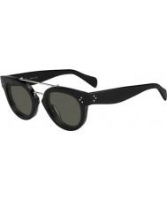 Celine Damen cl 41043-s 807 1e schwarze Sonnenbrille