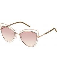Marc Jacobs Damen Marc 8-s txa 05 Gold braun Sonnenbrille