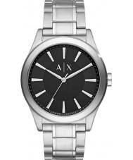 Armani Exchange AX2320 Herren Kleid Silber Stahl Armbanduhr