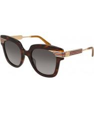 Gucci Damen gg0281s 002 50 Sonnenbrille