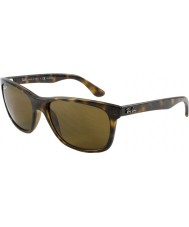 RayBan Rb4181 57 Highstreet Licht 710-83 polarisierten Sonnenbrillen Schildpatt