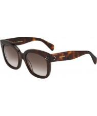 Celine Damen cl 41805-s 05l ha Schildpatt-Sonnenbrille