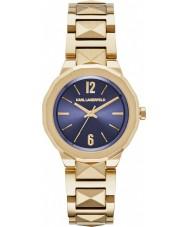 Karl Lagerfeld KL3407 Damen joleigh vergoldete Armbanduhr