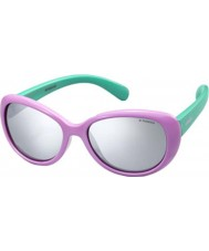 Polaroid Kinder pld8004-s t5f jb lila polarisierten Sonnenbrillen