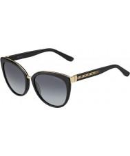 Jimmy Choo Damen dana-s 10e hd schwarze Sonnenbrille
