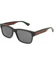 Gucci Herren gg0340s 006 58 Sonnenbrille