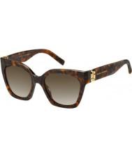 Marc Jacobs Damen marc 182-s 086 ha Sonnenbrille