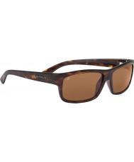 Serengeti Martino dunkle Schildpatt polarisierte Sonnenbrille Treiber