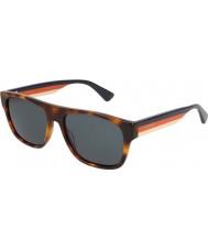 Gucci Mens gg0341s 004 56 Sonnenbrille