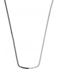 Emporio Armani EGS2128040 Mens Zusammensetzung zwei Ton Stahl Halskette