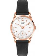 Henry London HL30-US-0024 Damen rich weiß schwarz Uhr