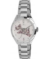 Radley RY4159 Damen Silber Schnitt durch Hund Armbanduhr