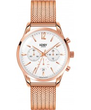 Henry London HL39-CM-0034 Damen rich weiß Rotgold Chronograph