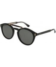 Gucci Herren gg0124s 001 Sonnenbrille