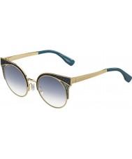 Jimmy Choo Damen ora-s psx u3 Gold Militär-Grün Sonnenbrille