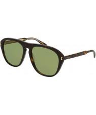 Gucci Herren gg0128s 001 Sonnenbrille