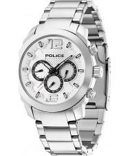 Police 13934JS-04M Herren-Triumph Silber Stahl-Uhr