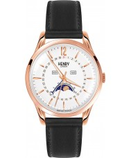 Henry London HL39-LS-0150 Richmond Rotgold schwarze Uhr