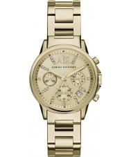 Armani Exchange AX4327 Damen kleiden vergoldet Chronograph