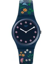Swatch GN256 Damen Blumenteppich Uhr