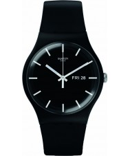 Swatch SUOB720 New Gent - mono black Uhr