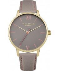 Daisy Dixon DD029EG Damen annie grau Lederband Uhr