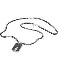 Police 25492PSB-01 Mens Hybrid-Silber Stahl Halskette