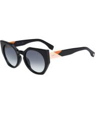 Fendi Facets ff 0151-s 807 jj schwarze Sonnenbrille