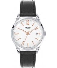 Henry London HL39-S-0005 Highgate weiß schwarz Uhr