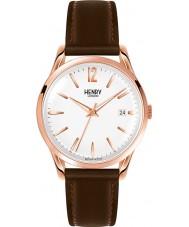 Henry London HL39-S-0028 Richmond weiß braun Uhr